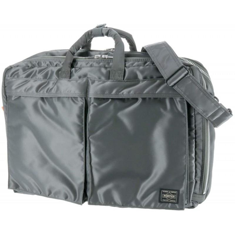 (포터) PORTER 3way 가방 어깨 가방 비즈니스 가방 배낭 [탱커] 2. 실버 그레이