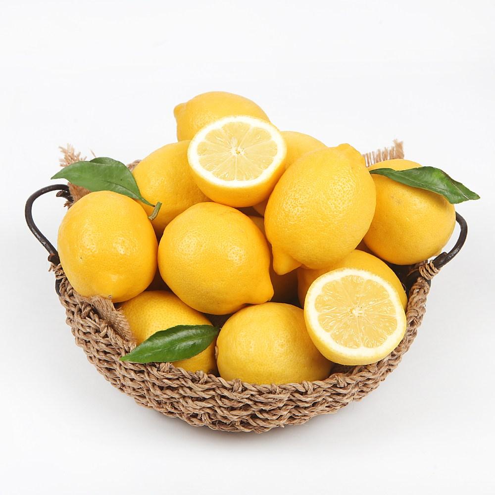 [장보남] 정품 팬시 레몬 30과 3kg 30과 3.6kg, 1박스, 레몬 30과(3kg)