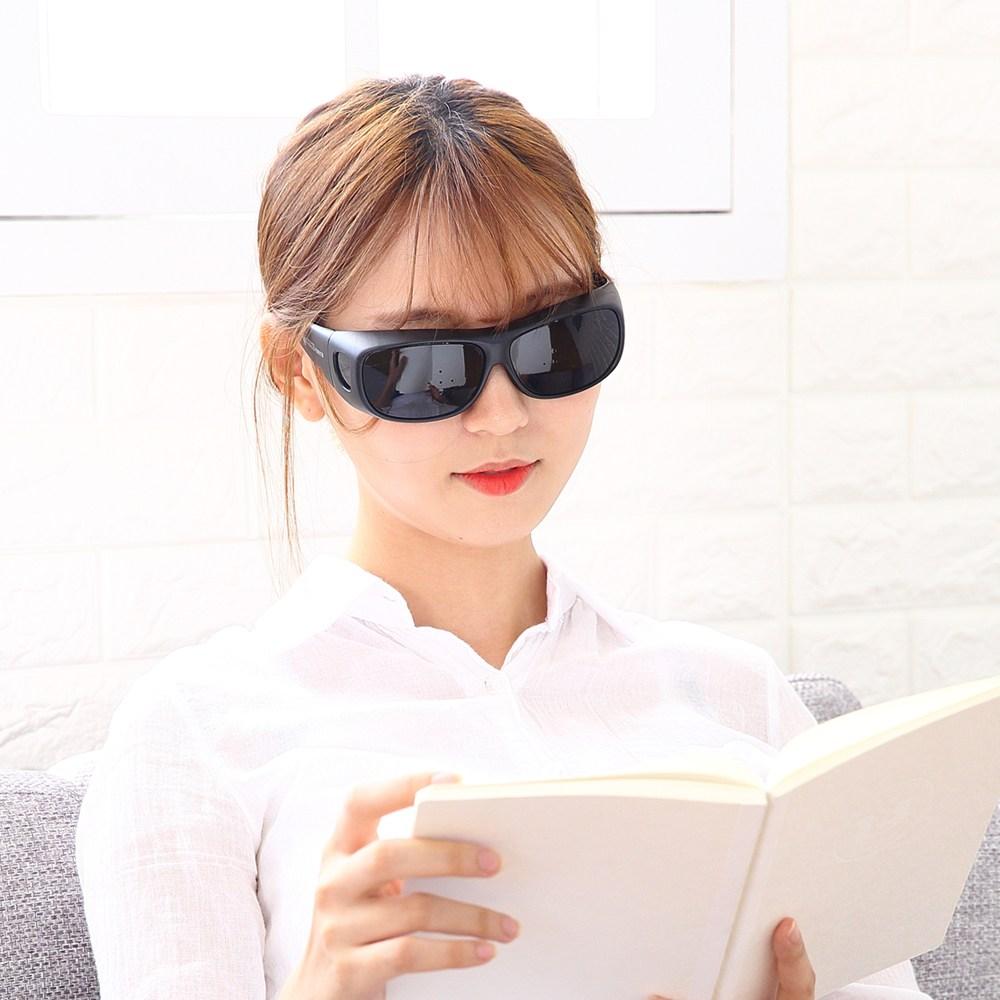 뉴아이마스크 핀홀안경 특허받은 5핀홀 눈운동 기능성안경, 1개