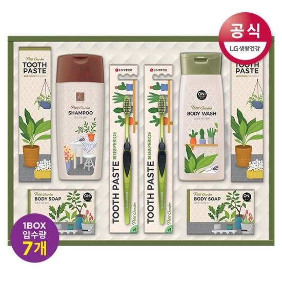 [K쇼핑][LG생활건강 추석 선물세트] Neo 쁘띠 가드닝 세트 x 7개 (한박스), 단일상품