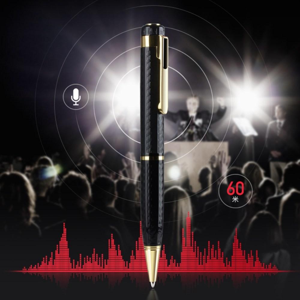 소형 휴대용 학습 비즈니스 회의 펜형 녹음기 대용량, 8GB