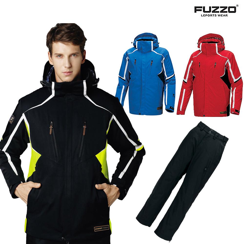 푸조 남여 스키복 스노우보드복 패션 기능성 스키보드복 상하세트 FZ822S