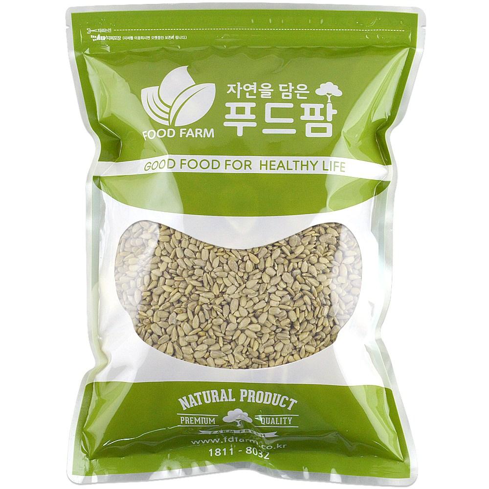 해바라기씨 1kg 최근통관 햇제품, 1팩