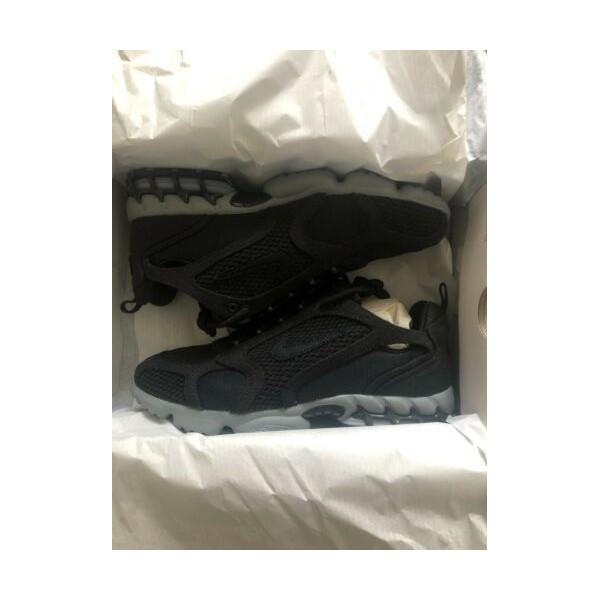 뉴 Nike x Stussy Air Zoom Spiridon Cage 2 in 블랙/Cool 그레이 Size 9 **IN HAND**