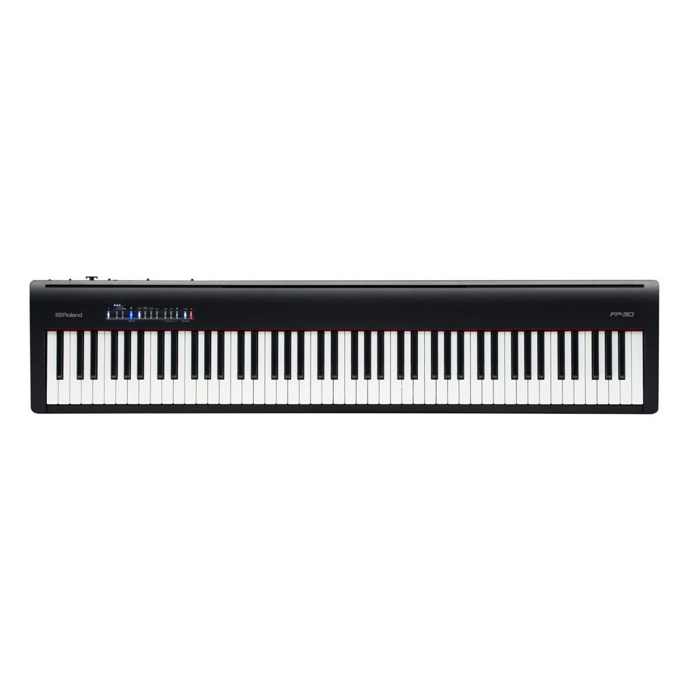 ROLAND 롤랜드 스테이지 디지털 피아노 FP-30, 블랙
