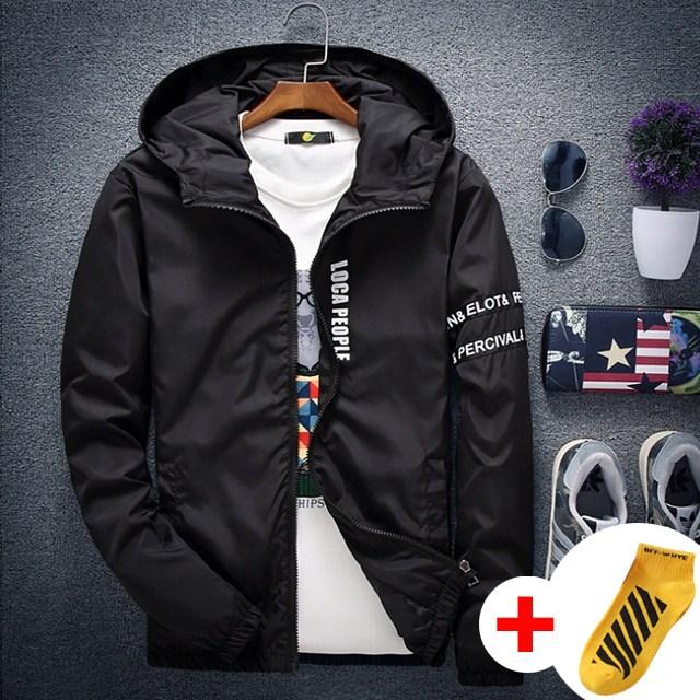 위즈아이 소매 후드 바람막이 점퍼 봄 가을 집업 자켓 WI027J+국내발송+양말증정