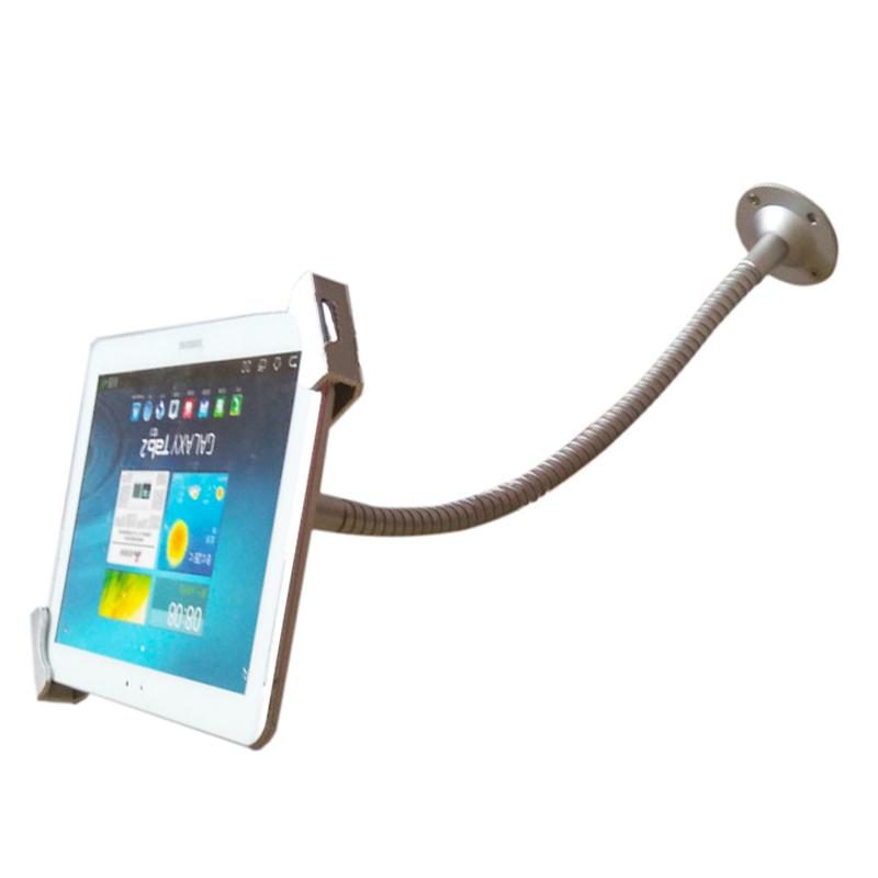 자물쇠탑재 방범도난방지 태블릿 거치대 월플레이트 탁상용 PC 지지대 메탈, 상세내용참조