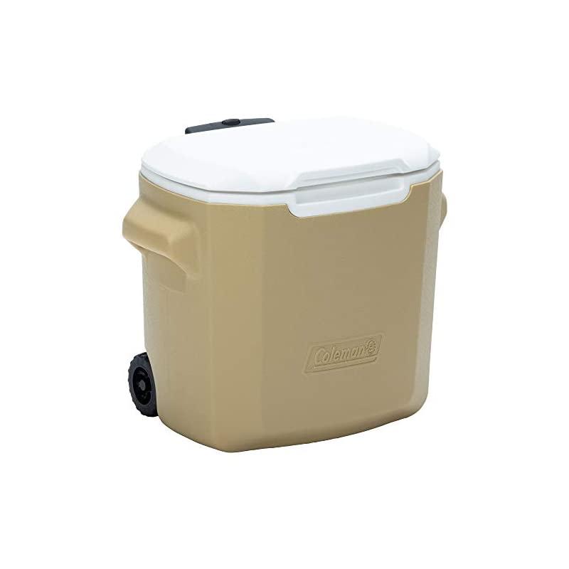 콜맨 아이스 박스 휠 쿨러 28QT 26L 샌드 2000036680