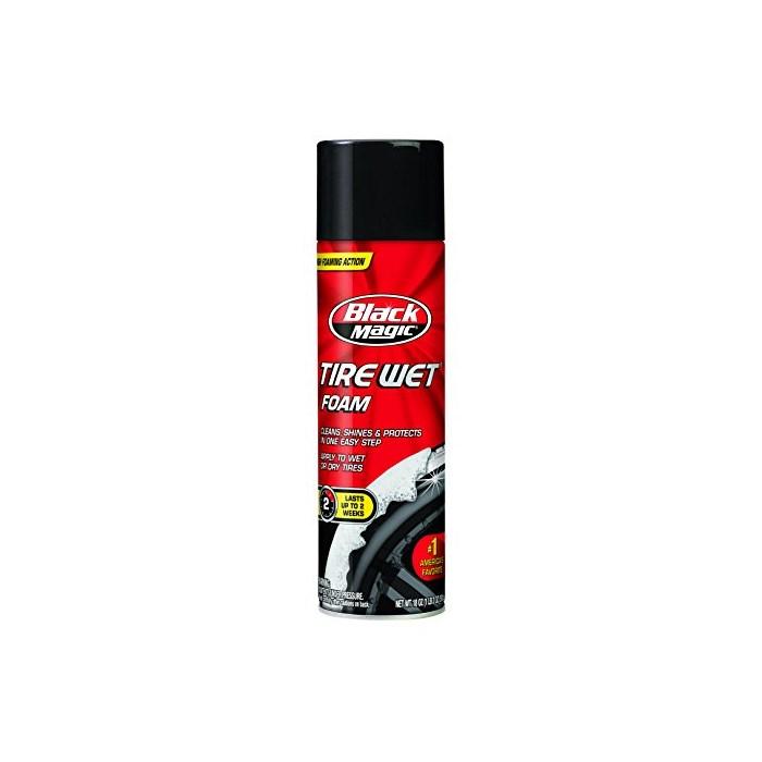 Black Magic 8000022206PK Tire Wet Foam 18 oz Pack of 6, 18 oz 6 Pack
