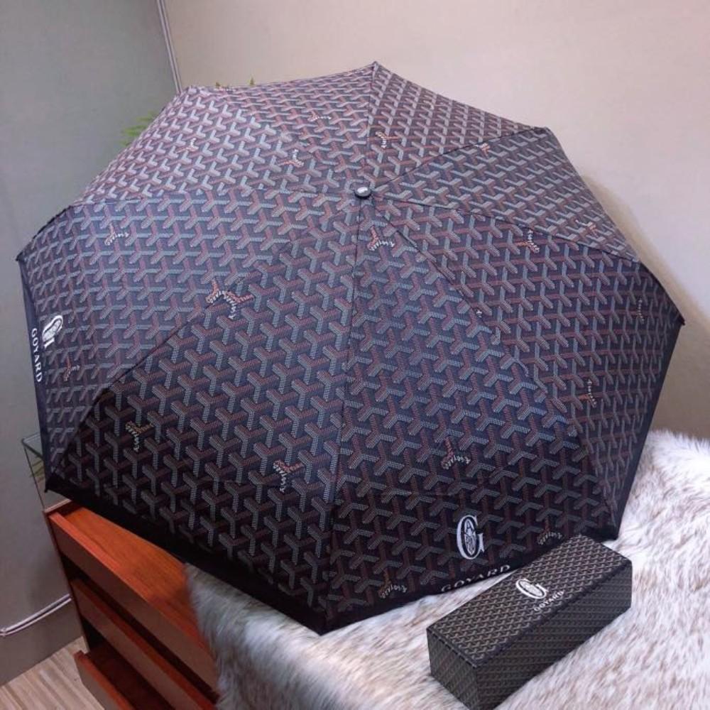 고야드 고야 자동청우산 흑교 선우산 고아덕 5단 포켓 도그 치아 자외선 차단 우산