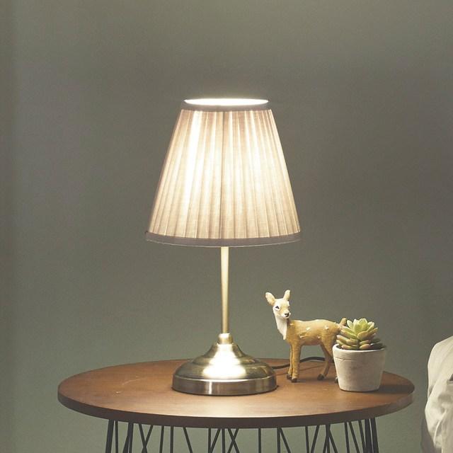 코코 밝기조절 침실 스탠드 조명 (당일발송) 침대 무드등, 베이지