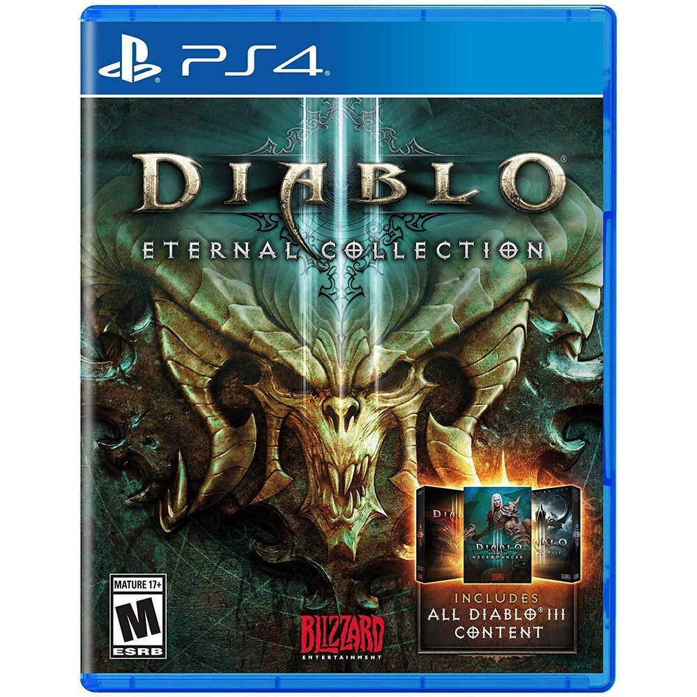 PS4 디아블로 3 이터널 콜렉션 Diablo III Eternal Collection, 선택1