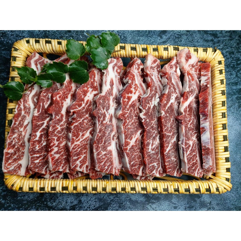 [소백]LA갈비 찜갈비 구이용 찜용 블랙앵거스 미국산 소고기 팁초이스 등급 1KG