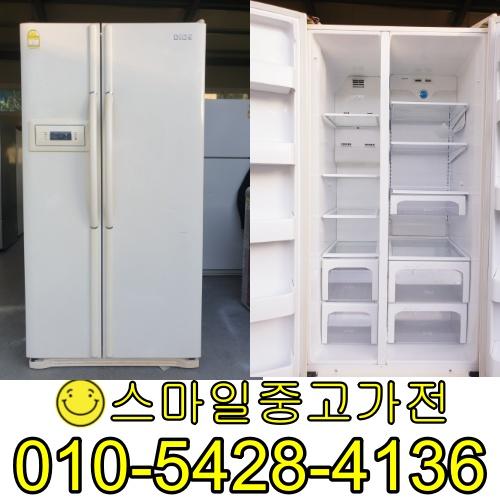 엘지디오스 양문형냉장고 2도어 이사 공장입주 신혼가전 중고제품 전문점 특가제품 입고 676리터 중고, 중고냉장고