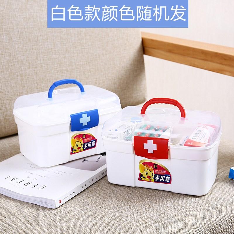 가정용 약상자 수납함 정리상자 분리형 필수품 홈함 응급약품 휴대용 구급함 도구 구급상자 정리함, 옵션1 (POP 5531362643)