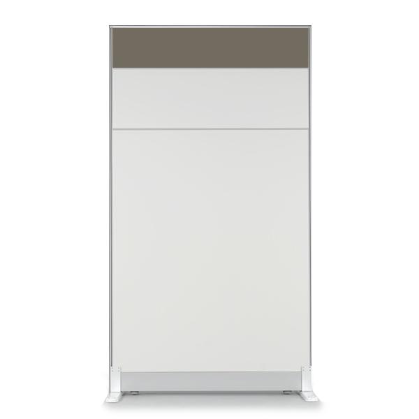더인파티션 45T PVC 컬러 파티션 사무실 파티션/사무용 칸막이, 높이1800파티션-웜그레이(PCPG-QW)
