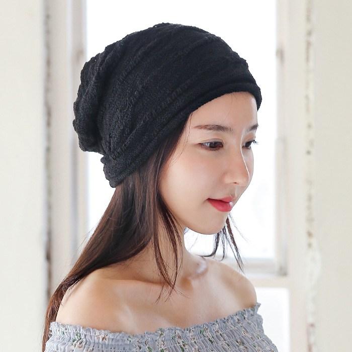 웨스트무브 비니 니트 면 봄 여름 여성모자 패션 헤어 두건 코튼츠즈 (8컬러)