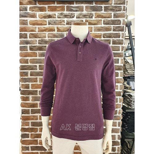 올젠 AK분당점 올젠 남성 리플 솔리드 긴팔 티셔츠 ZPA3TT1502 WN