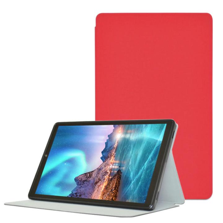 디클 탭 액티브 10.1 전용 플립 케이스, RED