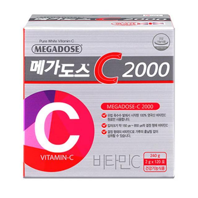 고려은단 메가도스C2000 120포 (4개월분)