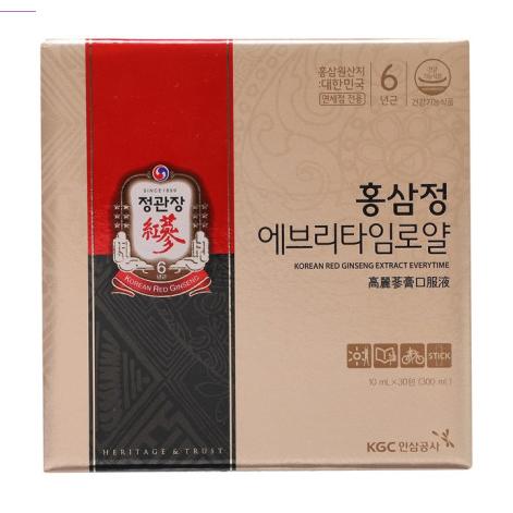 정관장 홍삼정 에브리타임 로얄, 10ml, 300개