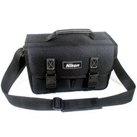 (국산) 중형 가방(니콘 로고)-FM2/FM3/FE/FE10/F-801 등 35mmSLR(필카) 1대와 렌즈1-2개 수납-카메라가방, 단일상품