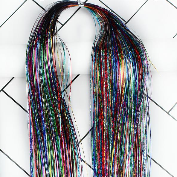 가발위드 2+1 트윙클 붙임머리 반짝이 헤어피스 28종류, 믹스350가닥, 1개