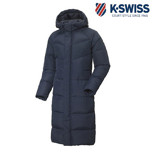 K-SWISS(AK PLAZA) AK수원점 케이스위스 남여공용 오리털 다운 롱패딩 4219JD401