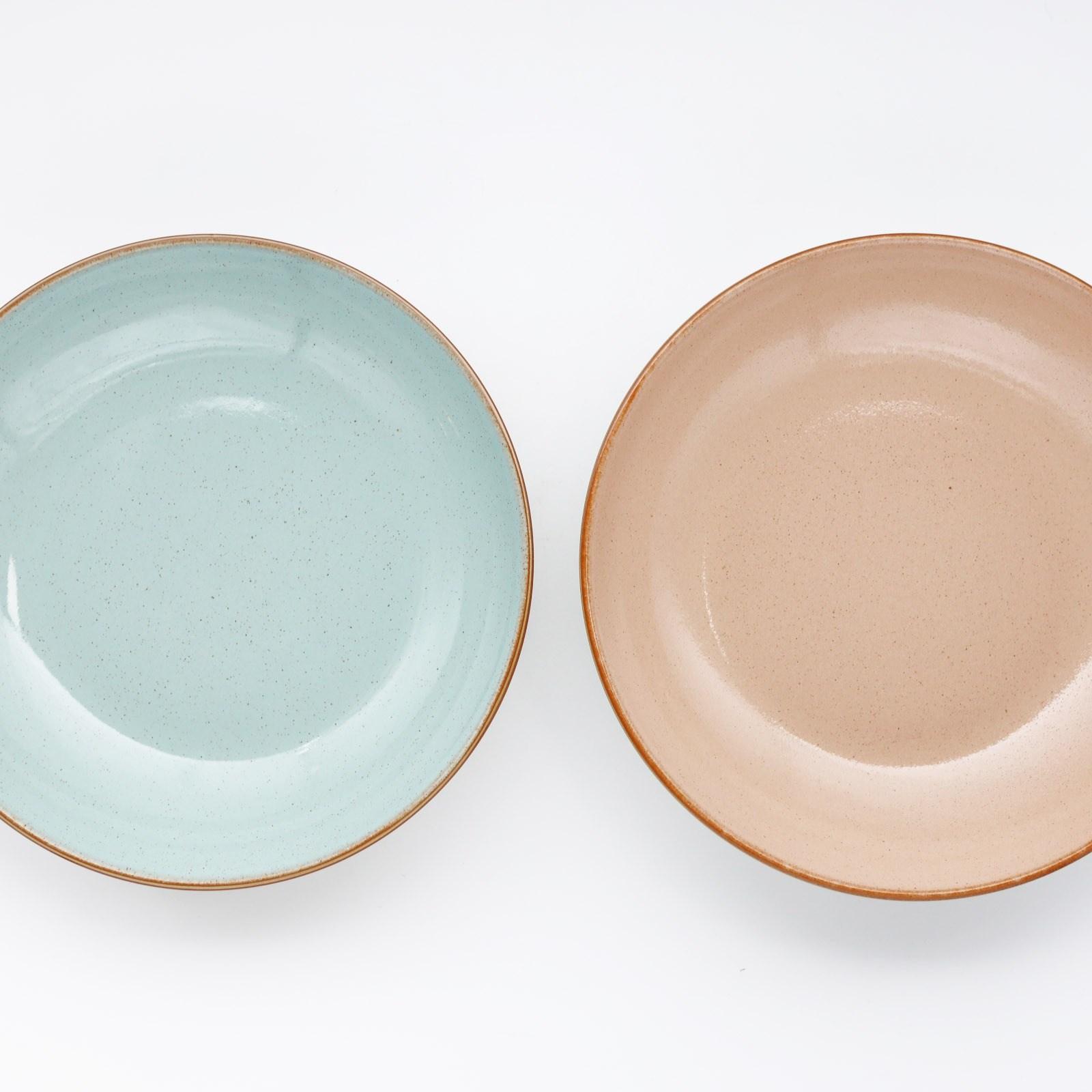 영국 덴비 DENBY New 명품 그릇 파스타볼 2P 오차드 & 파빌리온 피아자 시리얼볼, 1세트, 피아자 & 파빌리온