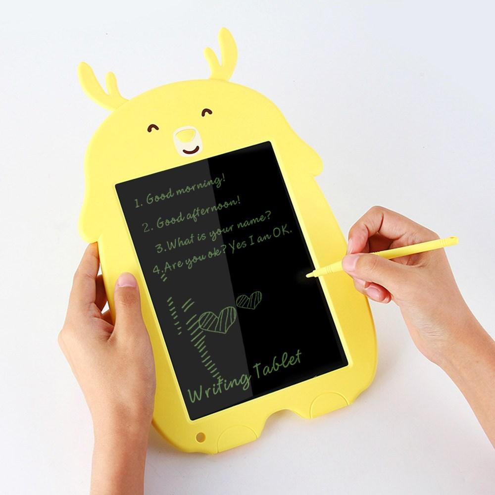 애니멀 LCD 스마트 만능패드 전자패드메모 노트 그림판 동물 전자칠판