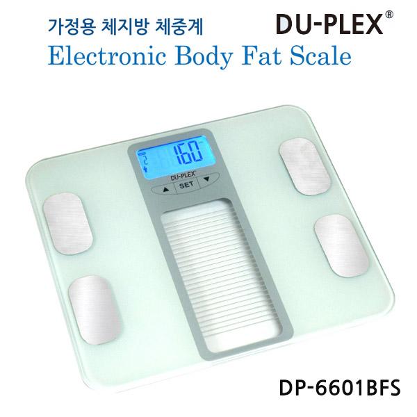 듀플렉스 가정용 체지방 체중계, 단일색상, DP-6601DFS