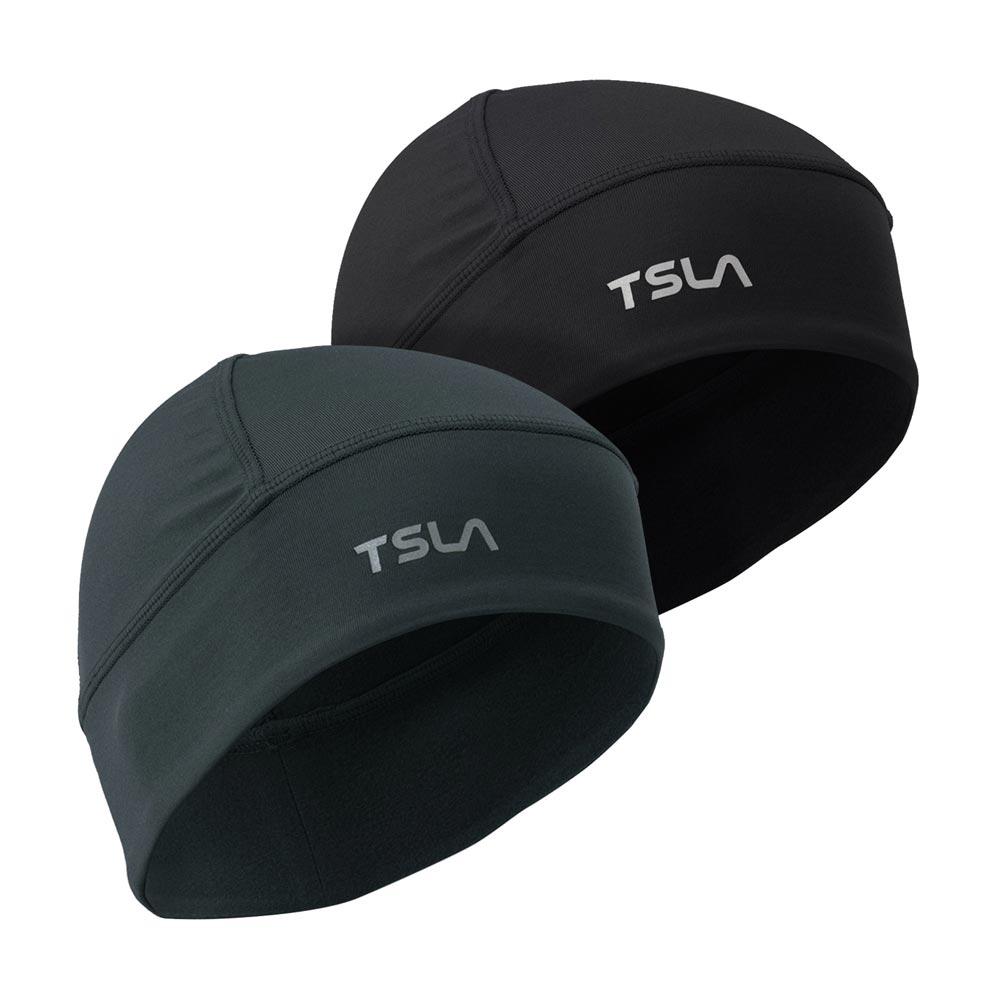 테슬라 스컬캡 방한모자 자전거모자 2팩 TM-YZC11, FREE, 그레이 블랙_KCH