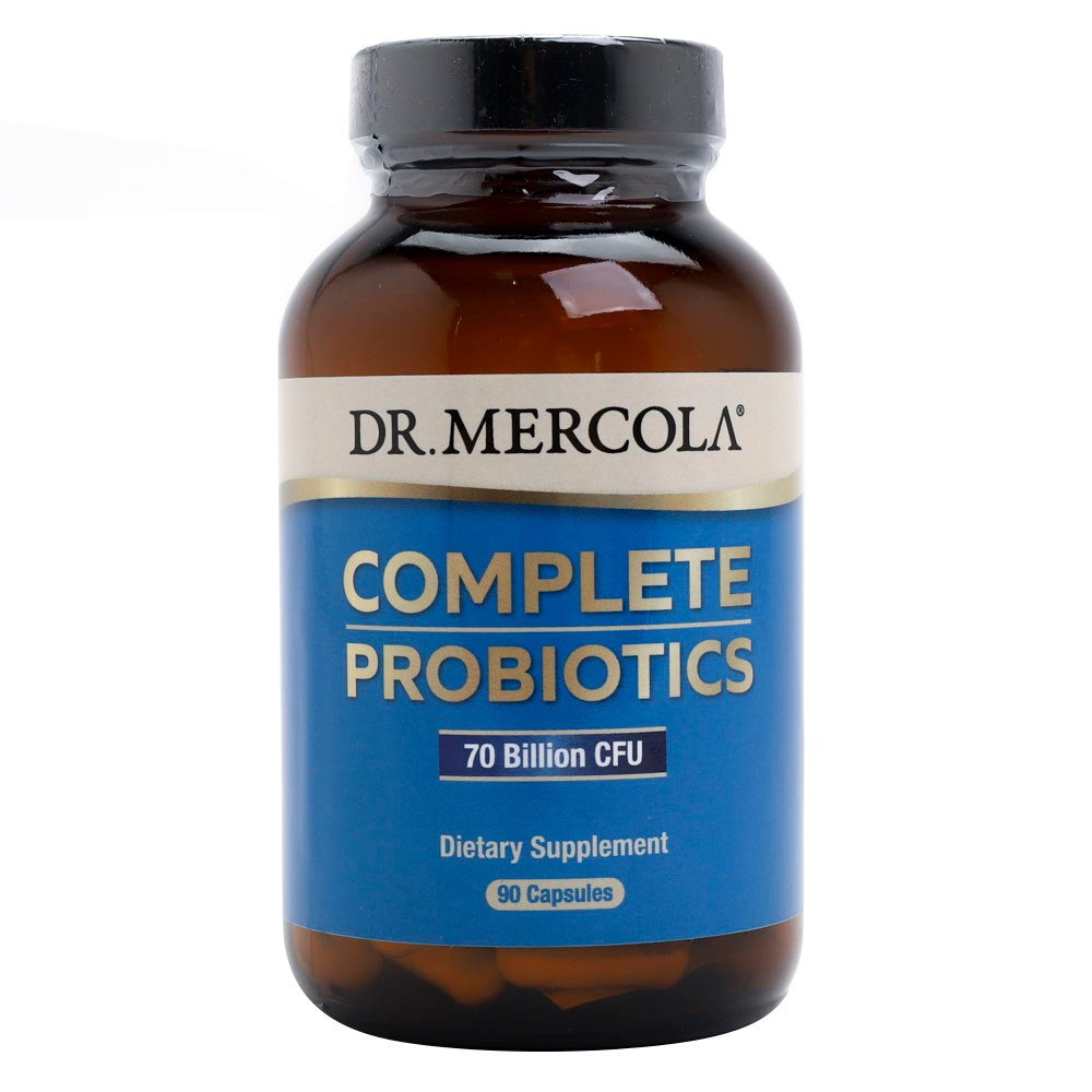 Dr Mercola 컴플리트 프로바이오틱스 캡슐 90개입