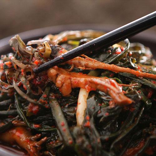 풍성한 여수 고들빼기 김치, 1box, 2kg