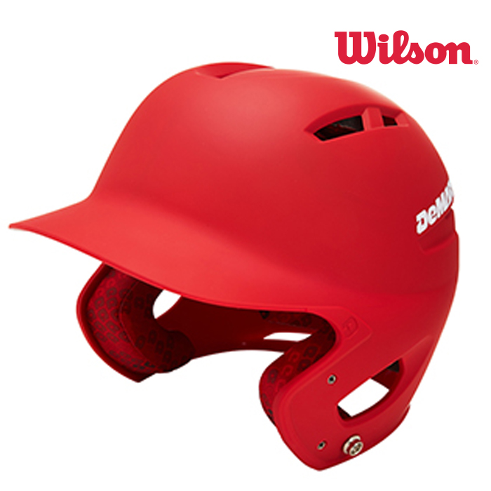 윌슨 우타자 좌타자 헬멧 양귀 야구용품점, L_XL