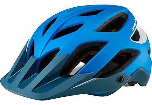 (관부가세포함) Cannondale Ryker MIPS Bicycle Helmet - CH4907-B01KU40K5K, Blue/WhiteMedium (55-59cm)