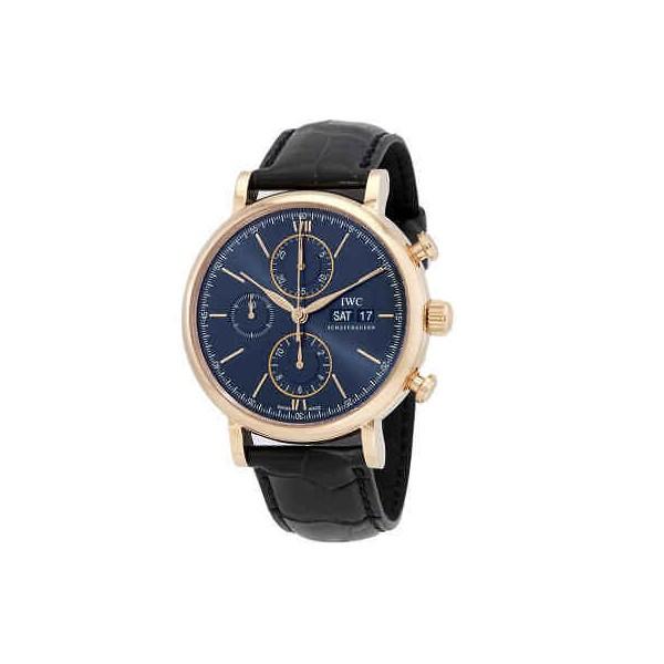 IWC Portofino Chronograph Automatic Blue Dial Watch IW391035