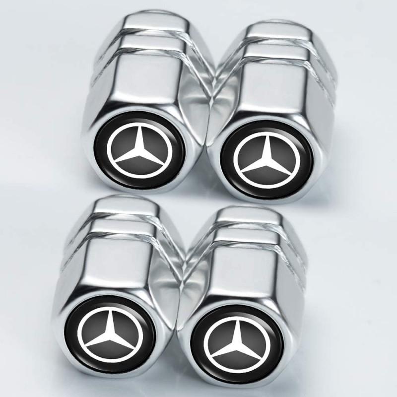 메르세데스 벤츠 C E S M CLS CLK GLK A B AMG GLS GLE AMG GLE AMG 로고 스타일링 장식용 벤츠 휠 타이 (POP 4385633496)