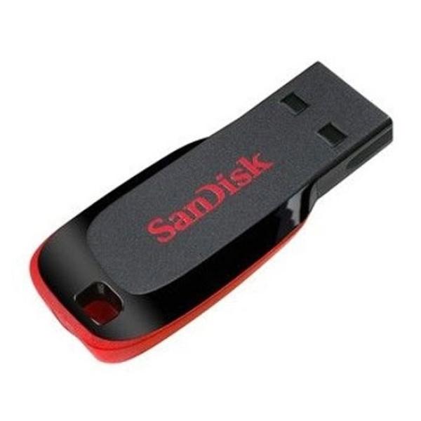 샌디스크 Cruzer Blade Z50 32GB USB메모리 블랙 (단자노출형)