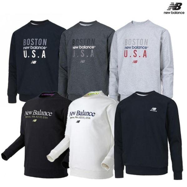 뉴발란스 봄봄봄 맨투맨 티셔츠 10종 택1 NBNCAB0013 NBNC912013 NBNC9B0023