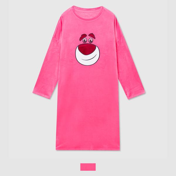 스파오 (토이스토리) 알린과 랏쏘 원피스 잠옷(PINK)_SPPPA4TU11