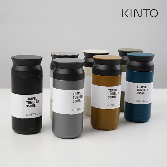 KINTO 킨토 트레블 텀블러 350ml, 스테인리스 스틸