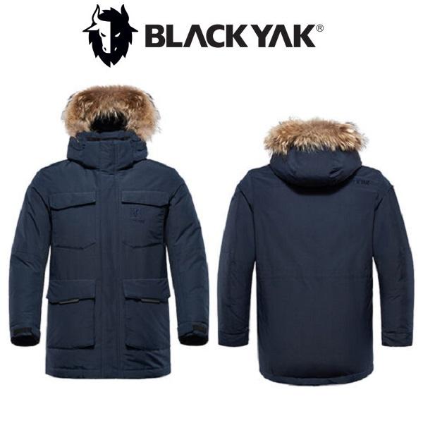 [블랙야크] [이월상품] 남성 야상 구스다운 B롯지스톰2다운자켓