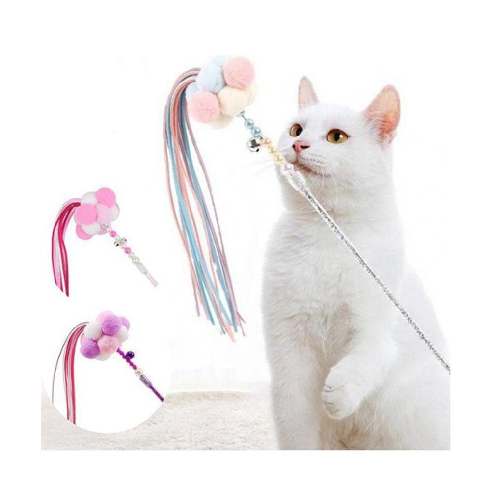 베CA_와인앤쿡 반려묘 폼폼 낚시 스틱 1개 애묘장난감 낚싯대장난감 펫장난감 막대장난감 고양이장난감:FZ@N9706ea, 옵션없음<%@#>, 옵션없음<%@#>
