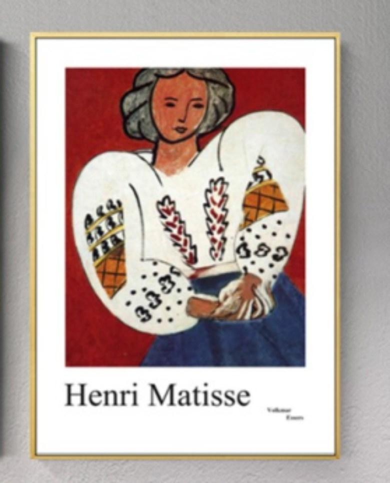 Henri Matisse Fauvism 두꺼비집 가리개 배전함 커버 액자 덮개 마티스 명화 아르데코 페인팅, 008