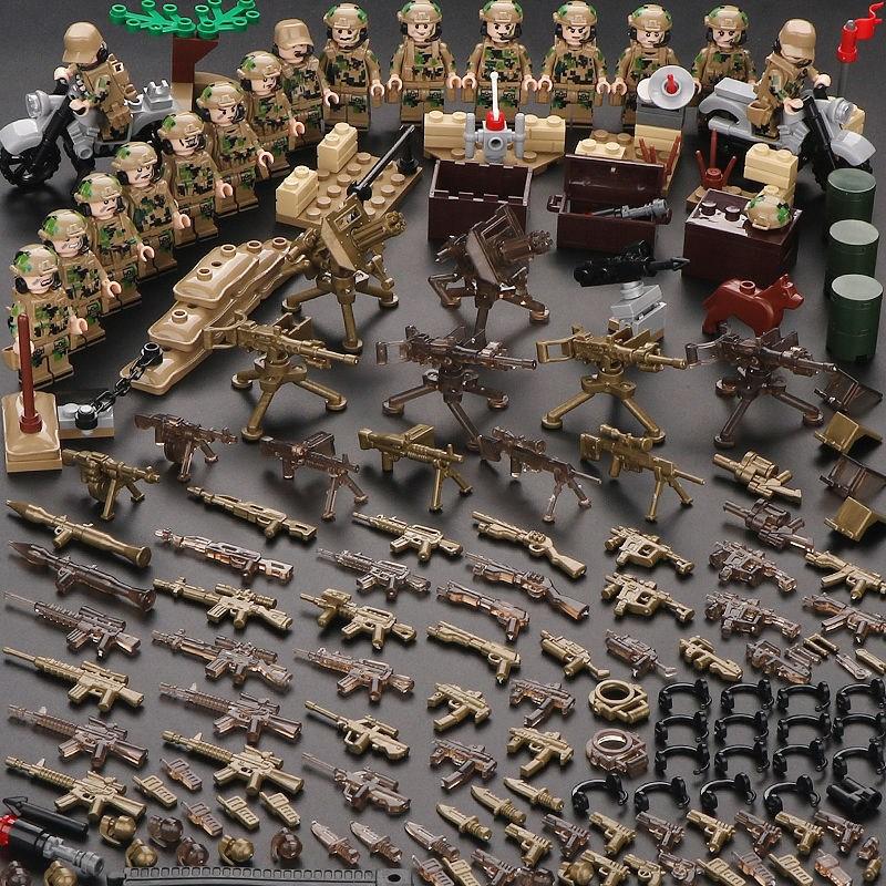 BRAND 레고호환 밀리터리 경찰 군인 특수부대 피규어 세트, 제품 6