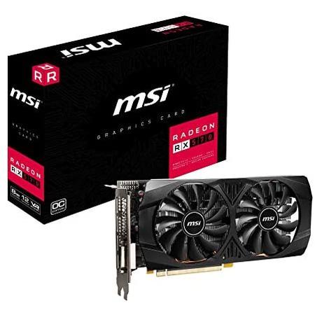 해외550022794 그래픽카드 MSI Radeon RX 570 8GT OC Graphics Card PCI-E x16 VR Ready, 상세 설명 참조0