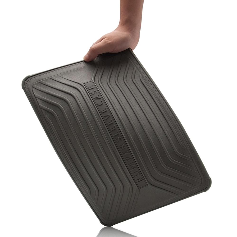 브랜드 맥북 프로 16인치 범퍼 파우치 케이스, 블랙