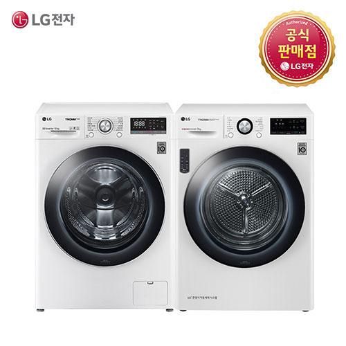 LG 트롬 F12WV-9V(F12WV+RH9WV) 세탁기 건조기세트, F12WV-9V