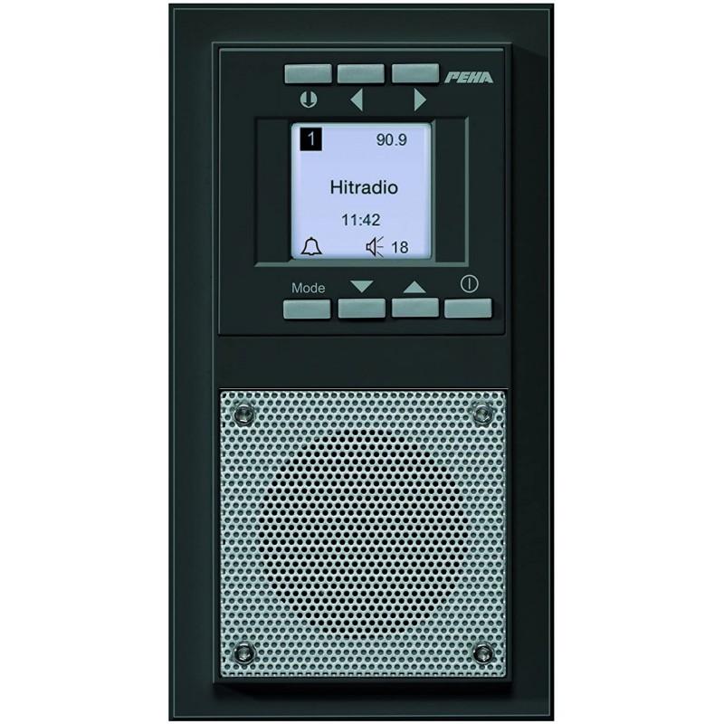 하니웰 홈 페하 D 20.485.64 라디오 플러시 장착 라디오 아우라 디자인 탄트라테